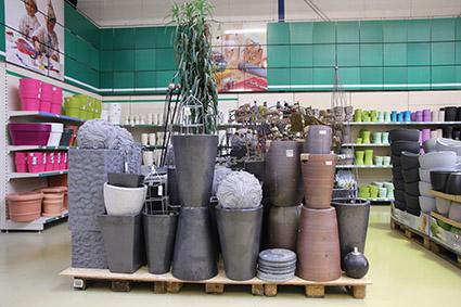Toepfe-Gartendeko